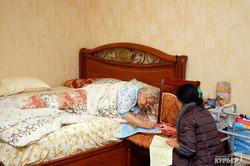 Как пожилые одесситы на дому голосовали (ФОТО)