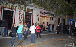 Блокирование Екатерининской продолжается: кинутые агитаторы угрожают поджечь штаб Гурвица (ФОТО)