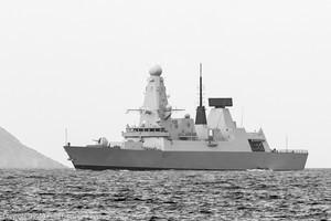 В Черное море зашел британский ракетный стелс-эсминец (ФОТО)