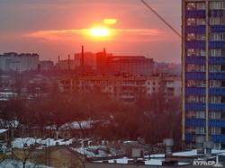 Зимняя Одесса с высоты птичьего полета: высотные стройки закрыли вид на море и на центр города (ФОТО)