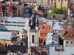 Фотопрогулки по городам Украины: Львов, вид сверху