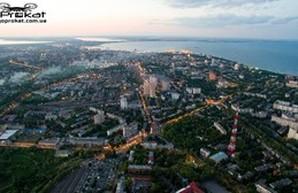Одесса: умопомрачительный вид с 300-метровой высоты (ФОТО, ВИДЕО)