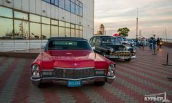 На одесском морвокзале проходит выставка ретроавтомобилей и мотоциклов (ФОТО)