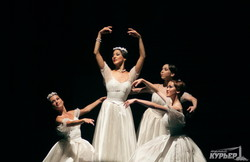 На сцене Одесской оперы проходят вечера классического балета (ФОТО)