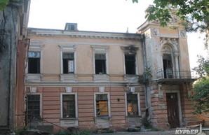 Владельцы особняка на Маразлиевской считают его поджог попыткой рейдерского захвата с целью высотной застройки