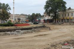 Реконструкция Тираспольской площади
