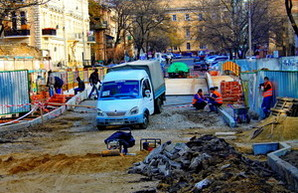 Ремонт моста Коцебу продолжается (ФОТО)