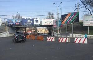 С понедельника движение в районе одесской Пересыпи будет восстановлено в прежнем режиме