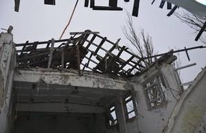 Военный пейзаж Донбасса: Широкино в руинах (ФОТО)