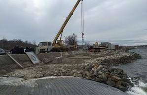 На Хаджибейском лимане большой ремонт (ФОТО)