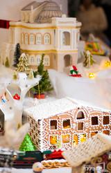 В Одессе открылась выставка пряничных домиков (ФОТО)