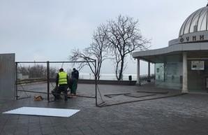 Сегодня Потемкинскую лестницу полностью закрывают (ФОТО)