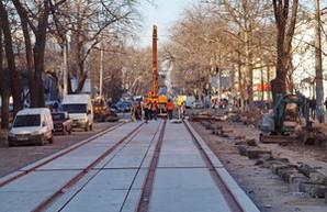 Реконструкция Тираспольской площади в Одессе: работы возобновились после зимнего перерыва (ФОТО)