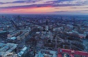 Великолепная мартовская Одесса с высоты (ФОТО)
