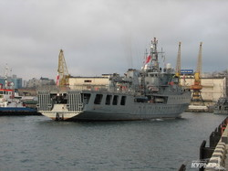 В Одессу прибыла международная эскадра НАТО (ФОТО)
