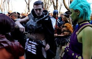 Одесская Юморина: межгалактический десант высадился на Приморском бульваре (ФОТО)