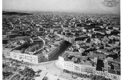 Одесса с воздуха во время обороны 1941 года (ФОТО)