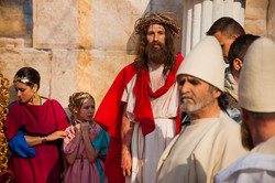 В Одессе показали последний путь Иисуса Христа на земле