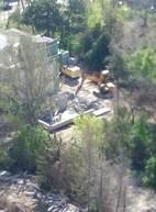 В Одессе начался демонтаж скандальной стройки на Французском бульваре (ФОТО)