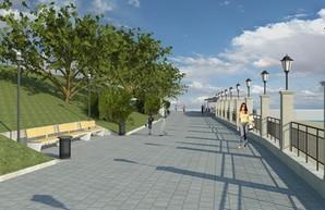 На четырех пляжах Одессы будут строить берегозащиту от оползней (ФОТО)