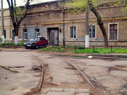 Фото дня: одесский трамвай на Дальних Мельницах