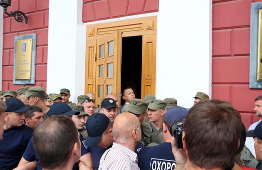 Одесский горсовет перестал быть открытым
