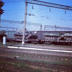 В России, с прошлой недели, отмечается массовое перемещение военной техники