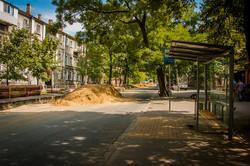 Как в Одессе на улице Пастера ремонтируют теплотрассы (ФОТО)