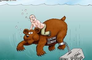 Падение прибыли экономики РФ вернулось к показателям 2014 года