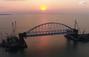 Установка арки на Крымском мосту – всё только начинается!