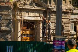 Дом Руссова в центре Одессы готовят к восстановлению (ФОТО)