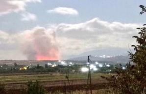 ВВС Израиля снова показали кто в сирийском небе хозяин