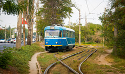 Как работает одесский трамвай на поселке Котовского и в Лузановке (ФОТО)