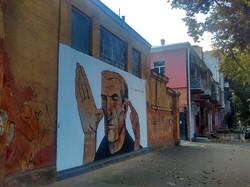 В центре Одессы появились философские граффити