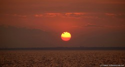 Как заходит Солнце над Одессой (ФОТО)
