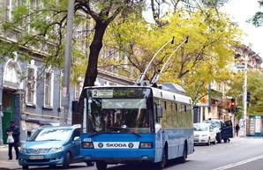 В Одессе воозобновили работу двух маршрутов троллейбуса