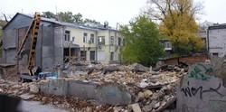 В центре Одессы на месте сгоревшего дома построят стилизованный под старину новострой