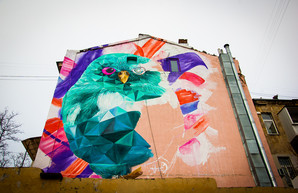 На улице Преображенской поселилась гигантская сова (ФОТО)