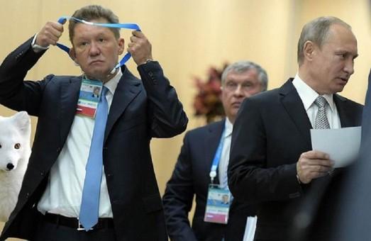Газпром опускается все глубже на дно