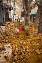 В Одессе начали ремонтировать Ришельевскую: 93 миллиона на тротуары (ФОТО)