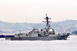 Эсминец ВМС США снова в Чёрном море