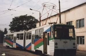Фото дня: оригинальный рижский двухсекционный трамвай в Одессе