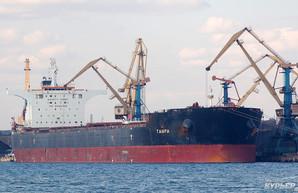 Порт Южный принял девятый балкер с углем для электростанций