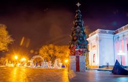 Центр Одессы превратился в зимнюю сказку (ФОТО)