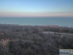 Январская солнечная Одесса: полет над Ланжероном (ФОТО)