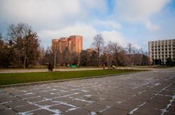 Первый снег этой зимы в Одессе пошел в середине января (ФОТО)
