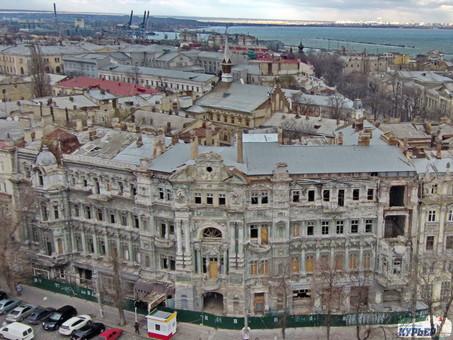 Восстановление дома Руссова в Одессе обойдется в 119 миллионов (ФОТО, ВИДЕО)