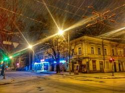 Одессу укутало снежным покрывалом (ФОТО)
