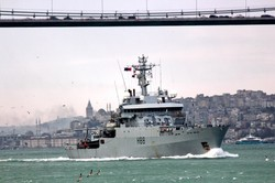 В Черное море зашел британский разведчик