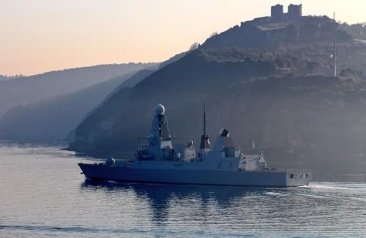 В Черное море зашел самый современный британский эсминец класса Daring